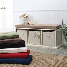Outdoor Bench Cushions Home Depot by Furniture Bench Cushions Indoor Window Seat Pillows 32 Inch Bench