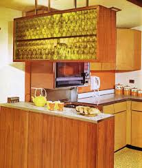 Kitchen In Harvest Gold