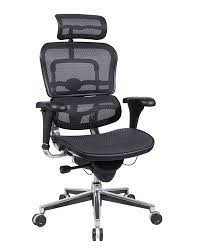 eurotech ergohuman me7erg mesh executive chair with headrest