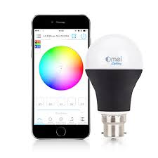 bluetooth led light bulb dimmable multicolored color changing