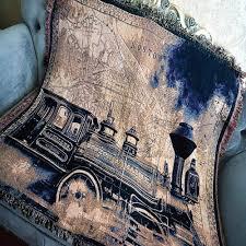 shabby chic zug baumwolle vintage teppich ländlichen