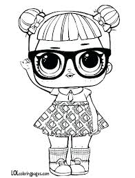 Teachers Pet Doll Surprise Free Coloring Page A Download Print Lol Pages Splash Queen