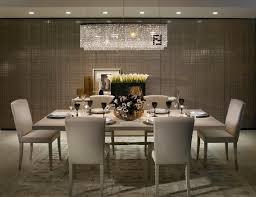 Modern Dining Room with Pendant Light & Hardwood floors