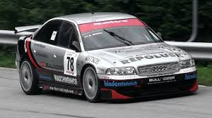 Audi A4 B5 STW In Action Hillclimb with Its Lovely Intake