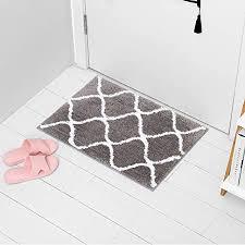 arnty badematte rutschfest badteppich hochflor saugfähige matte bad läufer badvorleger waschmaschine tpr material badezimmerteppich für