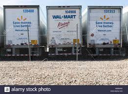 100 Semi Truck Logos Walmart Inc Logos On A Row Of Semitruck Trailers In Phoenix Stock
