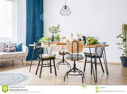 Black Chairs Around Big Table Stock Image - Image Of Round ... For Glass Room Chair Vico Set Ding Gloss And Round Chairs Nottingham Rustic Solid Wood Black Table Diy End Tables With Funky Fresh Designs Small Living Large Round Swivel Chair In Lisvane Cardiff Gumtree Rh Homepage Swivel Amazon Rocker Arm Modern Interior Of Modern Ding Room With White Walls Wooden Floor Ikea Eaging Ideas Decor Extra Lighting Oversized Relaxing In Front Of Fniturebox Uk Vogue Circular Chrome Metal Clear 6 Seater Lorenzo 4 Fniture
