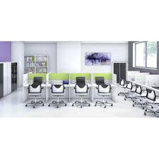 bureau call center bureaux call center version droite avec séparation mixte mobel li