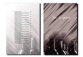 Diseños De Cartas De Bar