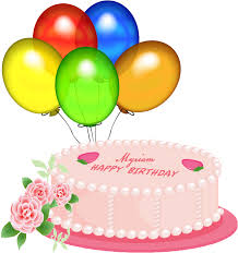 Firmas Connie Pink Happy Birthday Cake Clipart Tbr6hl Clipart