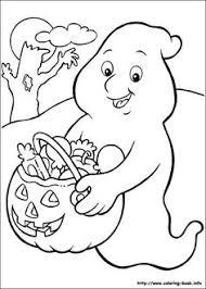Halloween Coloring Page Three Pumpkins