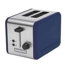 Cobalt Blue Side By Toaster