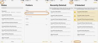 4 Simple Ways to Recover Deleted Notes from iPhone or iPad