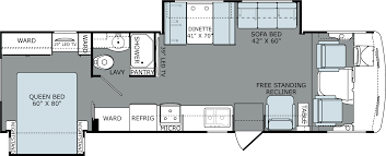 Travel Trailer Floor Plans With Bunk Beds by Adm32v 2x Png