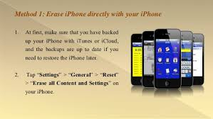 How to Erase Everything on iPhone Securely and pletely