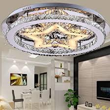 led kristall deckenle rund design deckenleuchte 48w moderne kreative led len starlight schlafzimmer kristallleuchte für wohnzimmer esszimmer