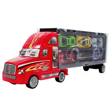 100 Semi Truck Toy Buy 7pc Go In Diecast Race Car Carrier