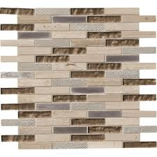 Home Depot Wall Tile Sheets by Ms International Rustique Interlocking 8 In X 18 In X 10 Mm