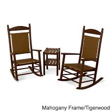 Jefferson 3-piece Woven Rocker Set (Mahogany), Brown, Size 3-Piece ... Jefferson Recycled Plastic Wood Patio Rocking Chair By Polywood Outdoor Fniture Store Augusta Savannah And Mahogany 3 Piece Rocker Set 2 Chairs Clip Art Chair 38403397 Transprent Png Polywood Style 3piece The K147fmatw Tigerwood Woven Black With Weave Decor Look Alikes White J147wh Bellacor Metal Mainstays Wrought Iron Old