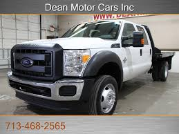 100 Used Trucks For Sale In Houston By Owner 2013 D F450 F450 67L DIESEL 4X4 1OWNER FLAT BED 107K CARFAX