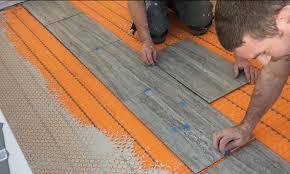 heated tile floor on slab 盪 rogue engineer