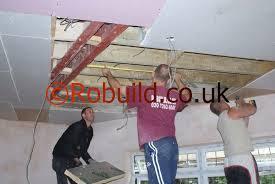 plasterboarding ceilings london builders