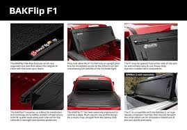 100 Truck Bed Bag BAKFlip F1 20152018 Ford F150 Hard Folding Cover 55
