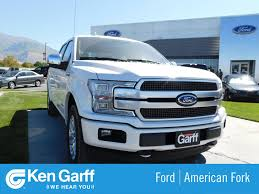 100 The New Ford Truck 2018 F150 Platinum Crew Cab Pickup 1F81292 Ken Garff