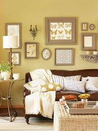 5 Fresh Ways To Decorate With Leather Furniture Yellow Walls Living RoomLight
