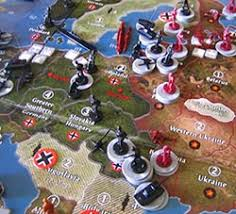 Game Board A Full Map Of The World Is Provided And Broken Up In Various Territories Similar To Risk