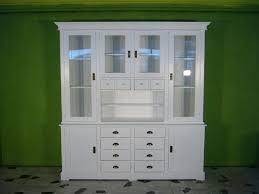ladenwand wohnzimmer schrank wand vitrine im shabby look massiv landhaus weiss