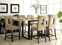 Dining Room Bar Height Table Kitchen Set