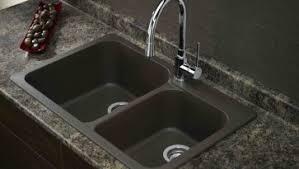 Overmount Double Kitchen Sink by White Granite Undermount Kitchen Sinks Kitchen Roomdesign Interior