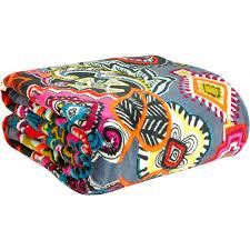 Vera Bradley Bedding Comforters by Vera Bradley Throw Blanket Painted Medallions Shop By Pattern