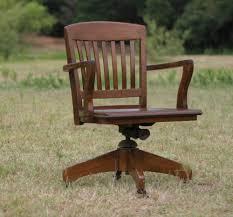 Rustic Antique Desk Chair