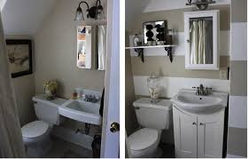 Small Bathroom Pictures Before And After by Small Bathroom Makeovers Before And After U2014 Optimizing Home Decor
