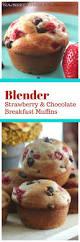 Bisquick Pumpkin Chocolate Chip Muffins by Blender Strawberry U0026 Chocolate Breakfast Muffins Healthy Too