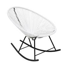 Plata Import Acapulco Modern White Vinyl Rocking Chair At Lowes.com Mainstays Outdoor 2person Double Rocking Chair Walmartcom Modern White Tipp City Designs Buy Edgemod Em121whi Rocker Lounge In At Contemporary On The Back Side Isolated Background 3d Model Aosom Hcom Wood Indoor Porch Fniture For Grey And Illum Wikkelso Mid Century Wire Mesh By For Sale Black And Dcor The Lifestyle I Like White Plastic Rocking Chair Brighton East Sussex Gumtree Design Classic Eames Set