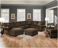 Big Chairs for Living Room  Charming Light Gray Walls Brown