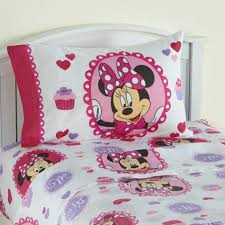Minnie Mouse Queen Bedding by Disney U0027s Twin Sheet Set Minnie Mouse Home Bed U0026 Bath