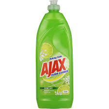 ajax floor cleaner with baking soda 750ml woolworths