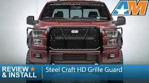 2015-2016 F-150 Steel Craft HD Grille Guard Review & Install - YouTube 02018 Dodge Ram 3500 Ranch Hand Legend Grille Guard 52018 F150 Ggf15hbl1 Thunderstruck Truck Bumpers From Dieselwerxcom Amazoncom Westin 4093545 Sportsman Black Winch Mount Frontier Gear Steelcraft Grill Guards And Suv Accsories Body Armor Bull Or No Consumer Feature Trend Cheap Ford Find Deals On 0917 Double 30 Led Light Bar Push 2017 Toyota Tacoma Topperking Protec Stainless Steel With 15 Degree Bend By Retrac