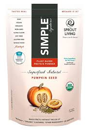 Sprout Pumpkin Seeds Recipe by Review Organic Pumpkin Seed Protein Powder From Sprout Living