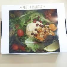 pret cuisine pret s vegan falafel salad perfection picture of pret a