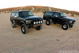 1993 and 1996 Ford Bronco f Road Magazine