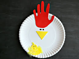 Make A Paper Plate Chicken For Fun Spring Craft With The Kids