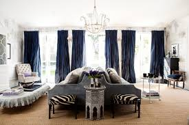 97 Dining Room With Navy Curtains Studio Mcgee 4