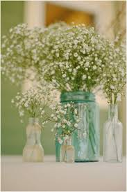 Babys Breath Back In Style And Oh So Pretty For A Very Rustic Country Wedding