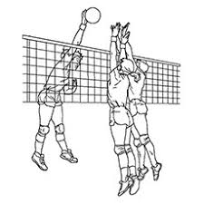 10 Best Volleyball Coloring Pages For Toddlers