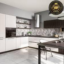 moderne designerküche l form küche mit essplatz hellgrau dunkelbraun
